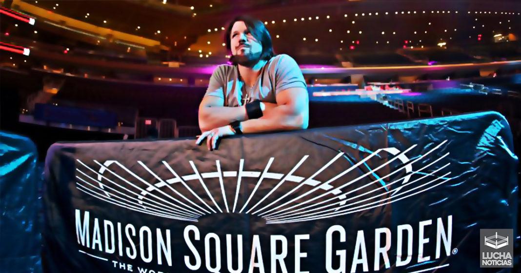 El Madison Square Garden está enojado con la WWE | Lucha Noticias