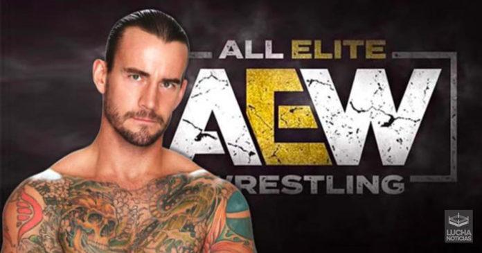 CM Punk en platicas con AEW