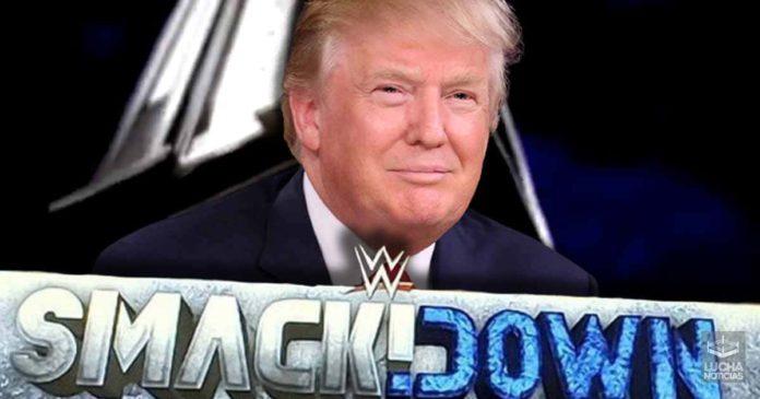 Donald Trump en SmackDown Live