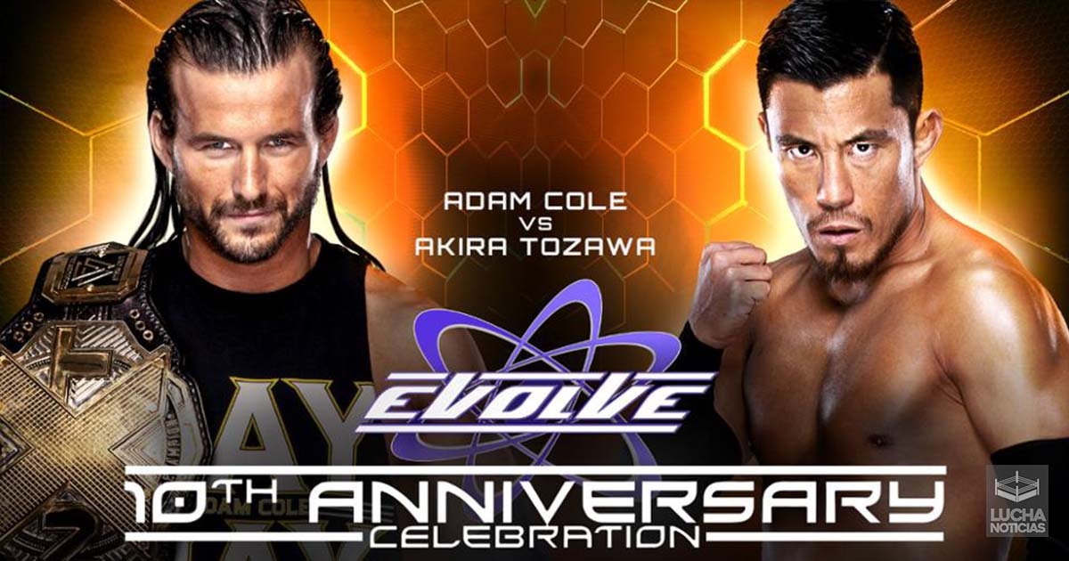 Evolve 10th Anniversary en vivo 13 de julio resultados