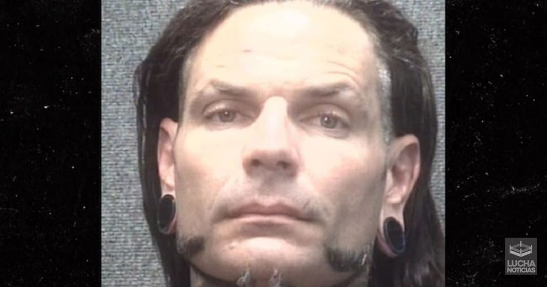 Jeff Hardy es arrestado por estar borracho