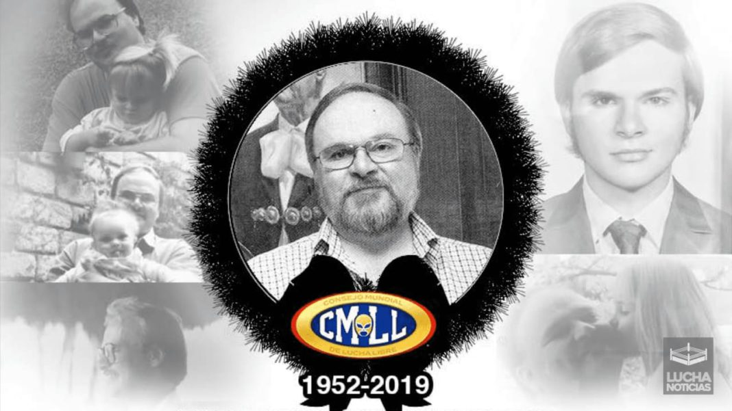 Muere Francisco Lutteroth presidente de CMLL