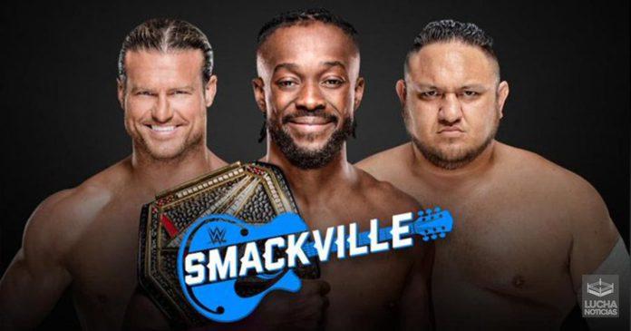 SmackVille especial de la WWE
