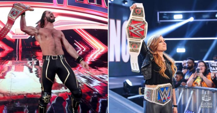 WWE Extreme Rules Seth y Becky