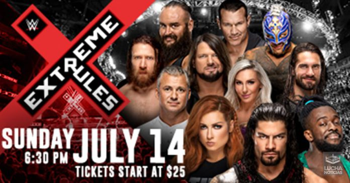 WWE Extreme Rules cosas que no debe hacer WWE