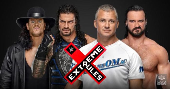 WWE Extreme Rules lucha de apertura