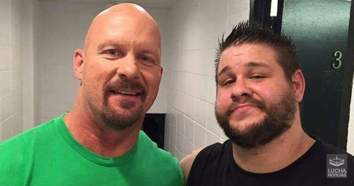 WWE Noticias Kevin Owens nuevo Stone Cold