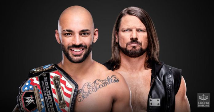 WWE Noticias Ricochet vs AJ Styles