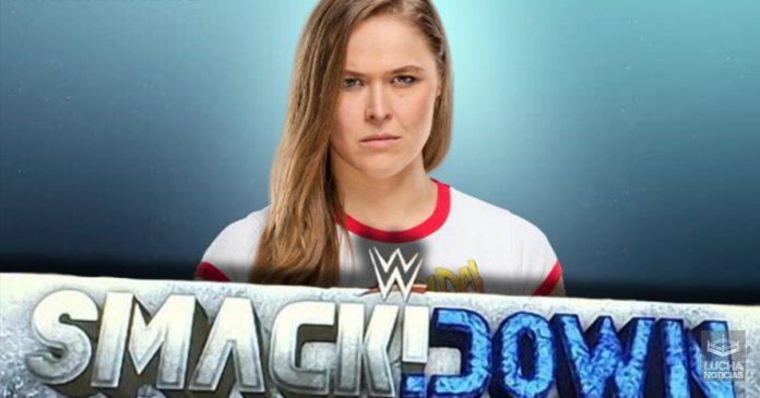 WWE Noticias Ronda Rousey a SmackDown