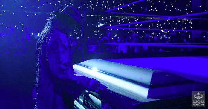 WWE Noticias Taker lucha de ataud