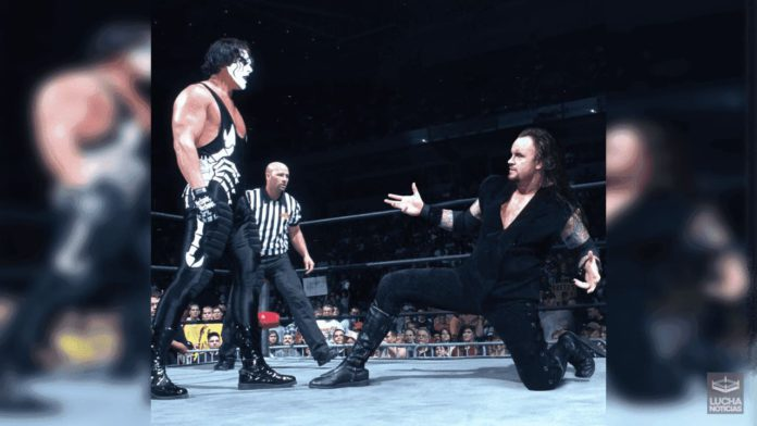 WWE Noticias Undertaker vs Sting