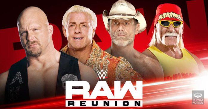 WWE RAW Reuni9on 22 de julio