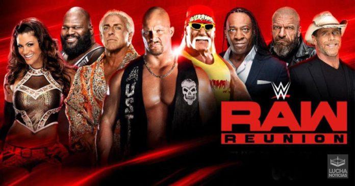 WWE RAW Reunion resultados 22 de julio