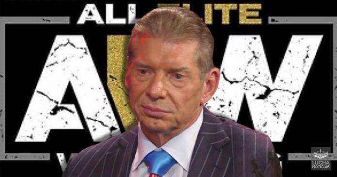 WWE no admite a AEW como competencia