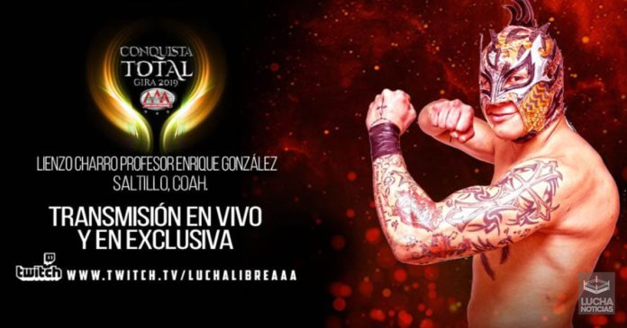 AAA Conquista Total Resultados 10 de Agosto