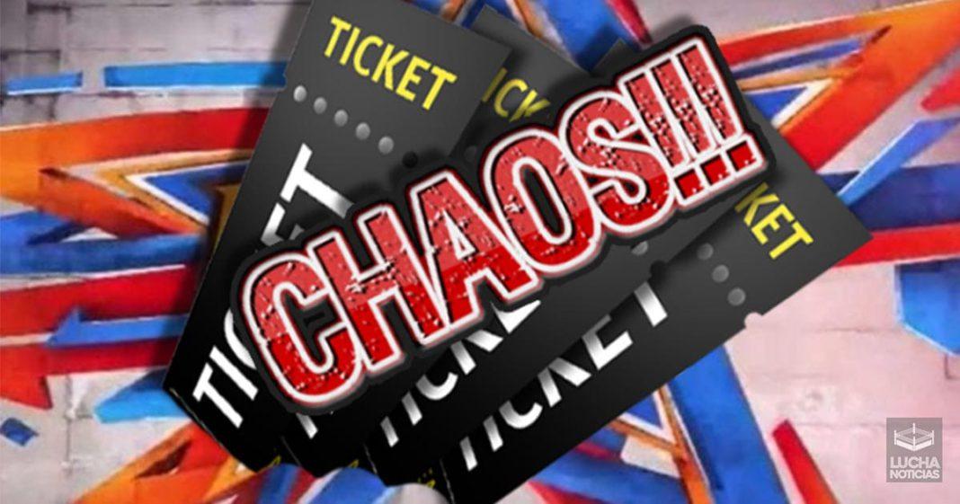 Baja venta de boletos en WWE SummerSlam
