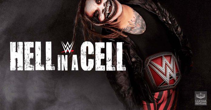 Bray Wyatt en un Hell In A Cell por el campeonato Universal