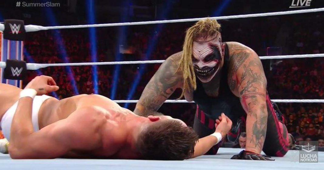 Bray Wyatt vence a Finn Balor