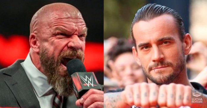 CM Punk y un posible regreso a la empresa