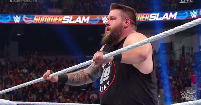 Kevin Owens vence a Shane McMahon en SummerSlam