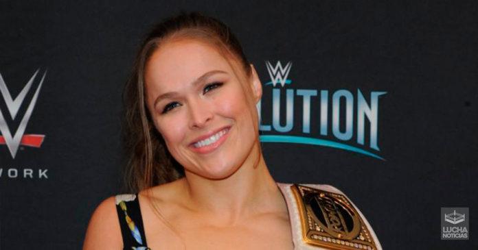 Ronda Rousey planes para su regreso