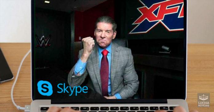 Vince McMahon cambia SmackDown por Skype