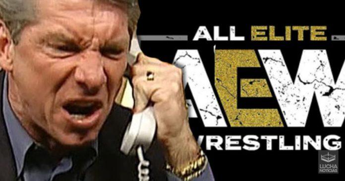 Vince McMahon quiere guerra contra AEW