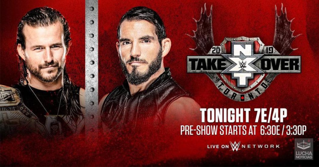 WWE NXT TakeOver: Toronto II horarios