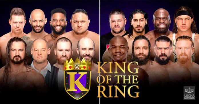 WWE RAW en vivo resultados 19 de agosto King of The Ring