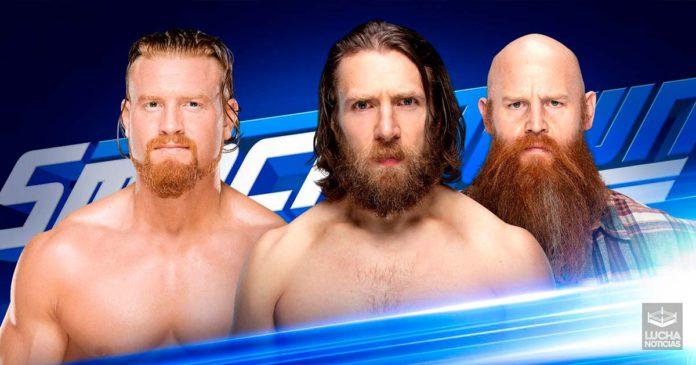 WWE SmackDown Live en vivo resultados 20 de agosto