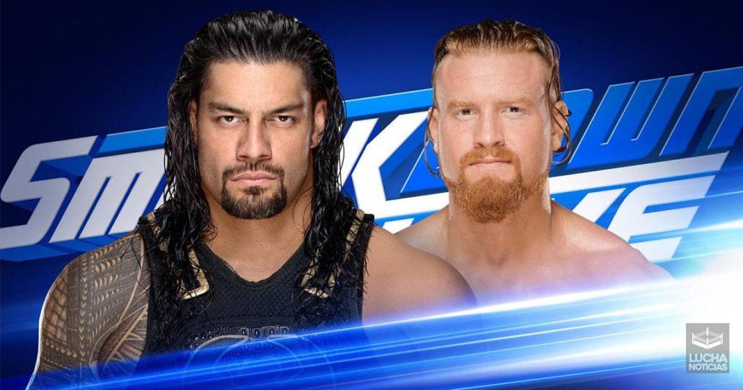 WWE SmackDown Live resultados 13 de agosto