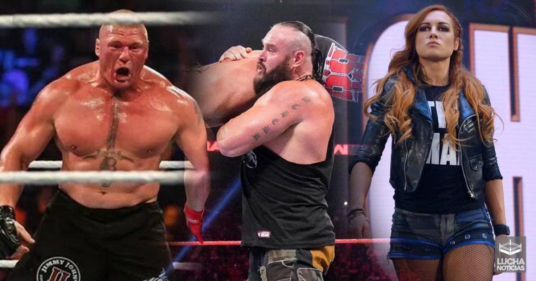 WWE y los nuevos salarios de sus luchadores