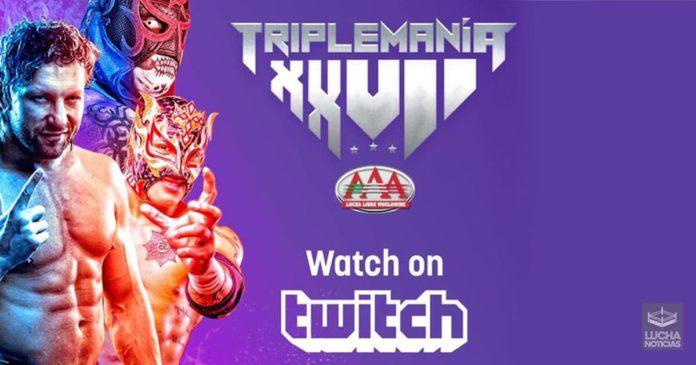 ver TripleMania XXVII en vivo y horarios