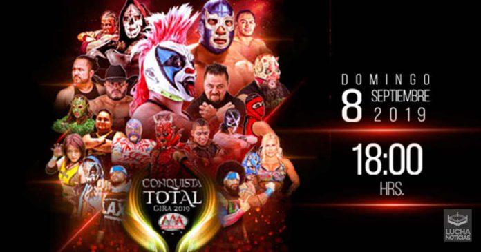 AAA Conquista Total en vivo 08 de septiembre resultados