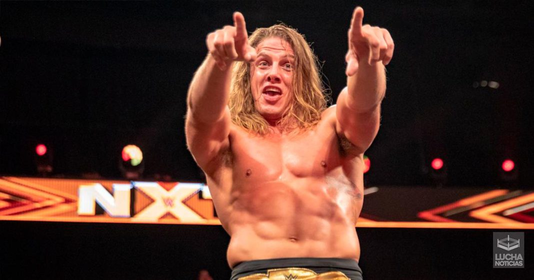 Matt Riddle con odio en backstage