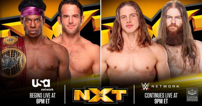 NXT en vivo Resultados 18 de septiembre USA Network Debut