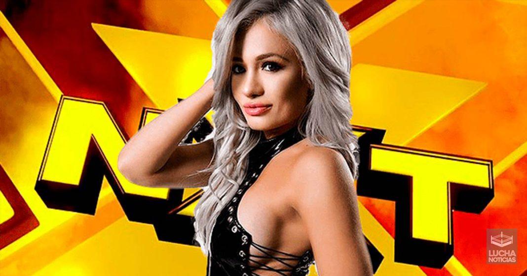 Scarlett Bordeaux al performance center de WWE