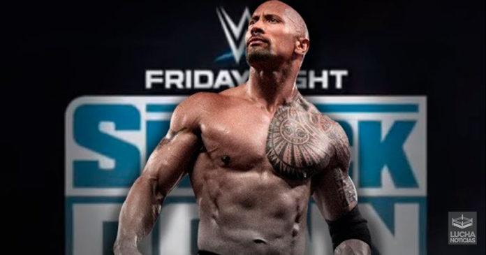 The Rock en SmackDown