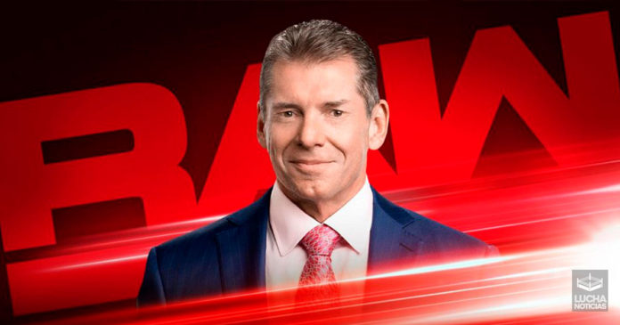 Vince McMahon no estuvo en RAW