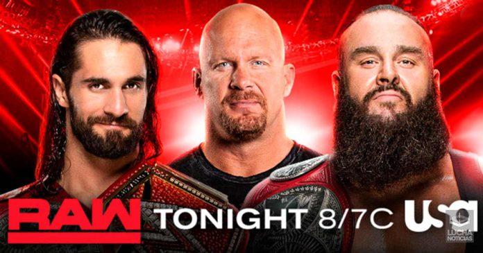 WWE RAW en vivo resultados 09 de septiembre