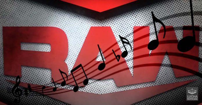 WWE RAW nuevo tema musical