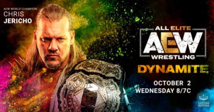 AEW Dynamite en vivo Resultados 02 de octubre