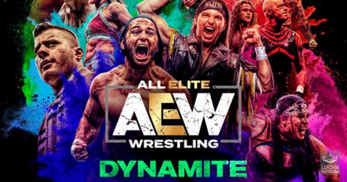 AEW Dynamite en vivo Resultados 09 de octubre