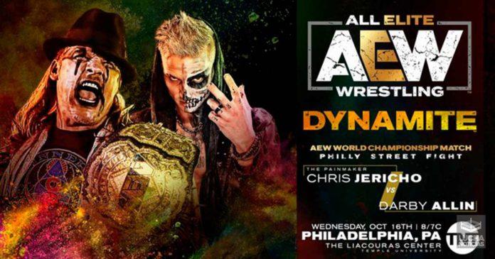 AEW Dynamite en vivo resultados 16 de octubre