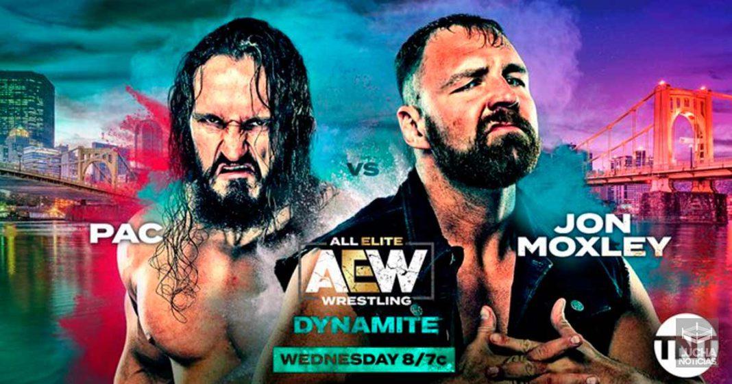 AEW Dynamite en vivo resultados 23 de octubre