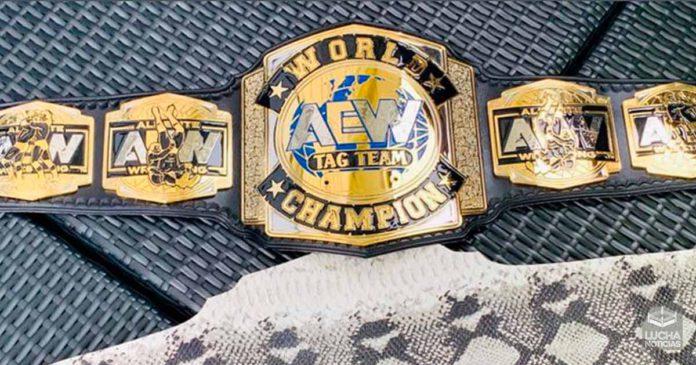 AEW Noticias nuevo campeonato de parejas
