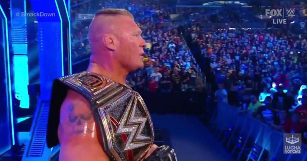 Brock Lesnar nuevo campeón de la WWE