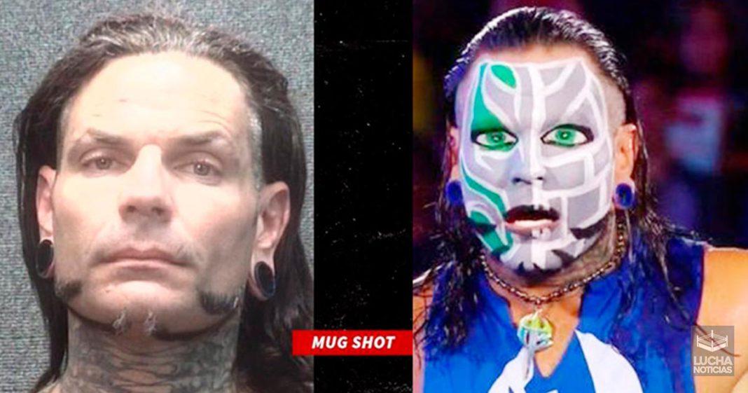 Jeff Hardy arrestado de nuevo