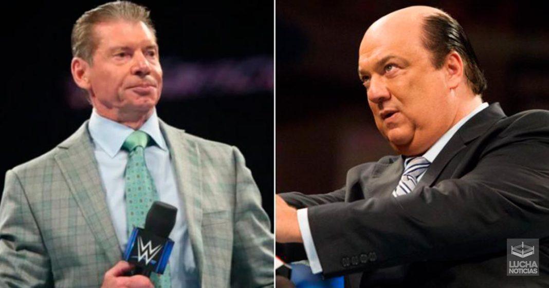 Vince McMahon y Paul Heyman discuten antes de RAW