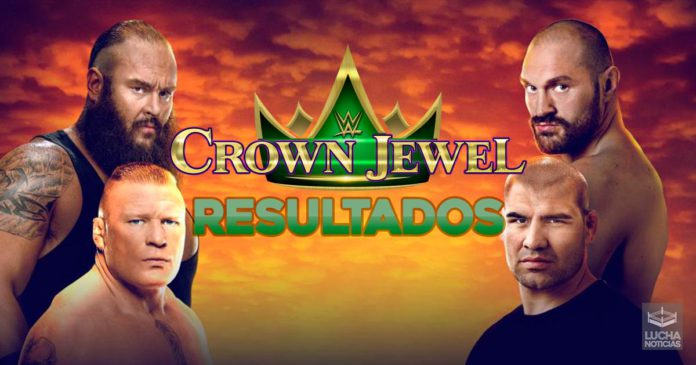 WWE Crown Jewel en vivo resultados 31 de octubre final